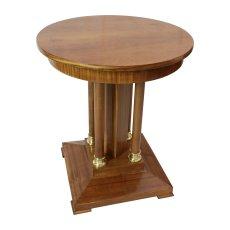 Beistelltisch - Nussbaum - Jugendstil  - Antik - Möbel - Antiquitäten