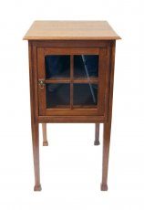 Kleiner Beistellschrank - Eiche - Jugendstil  - Antik - Möbel - Antiquitäten