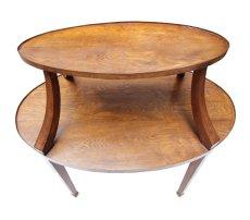 Kleiner Etageren Tisch - Eiche - Jugendstil  - Antik - Möbel - Antiquitäten