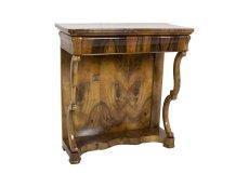 Konsole - Nussbaum - Biedermeier  - Antik - Möbel - Antiquitäten