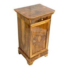 Nachttisch - Nussbaum - Biedermeier  - Antik - Möbel - Antiquitäten