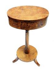 Tischchen - Nussbaum - Biedermeier  - Antik - Möbel - Antiquitäten