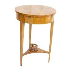 Trommel Nähtisch - Kirschbaum - Biedermeier  - Antik - Möbel - Antiquitäten