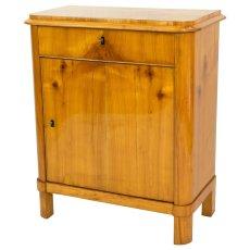 Eintüriger Halbschrank - Kirschbaum - Biedermeier  - Antik - Möbel - Antiquitäten