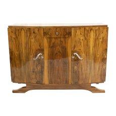 Sideboard - Nussbaum - Art Deco  - Antik - Möbel - Antiquitäten