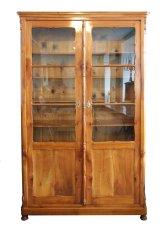 Bücherschrank - Kirschbaum - Historismus  - Antik - Möbel - Antiquitäten