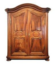 Barockschrank - Nussbaum - Barock  - Antik - Möbel - Antiquitäten