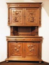 Eckbüffett - Eiche - Henry-Deux  - Antik - Möbel - Antiquitäten