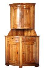 Eckschrank - Kirschbaum - Biedermeier  - Antik - Möbel - Antiquitäten