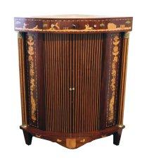Eckschrank - Mahagoni - Klassizismus  - Antik - Möbel - Antiquitäten