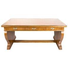 Schreibtisch - Nussbaum - Jugendstil  - Antik - Möbel - Antiquitäten