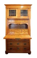 Sekretär - Kirschbaum - Jugendstil  - Antik - Möbel - Antiquitäten