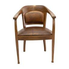 Armlehnstuhl - Eiche - Art Deco  - Antik - Möbel - Antiquitäten