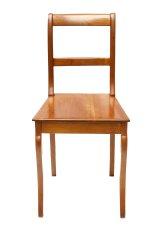 Brettstuhl - Kirschbaum - Biedermeier  - Antik - Möbel - Antiquitäten