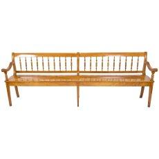 Sitzbank - Kirschbaum - Biedermeier  - Antik - Möbel - Antiquitäten