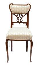 Stuhl - Eiche - Jugendstil  - Antik - Möbel - Antiquitäten