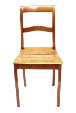 Stuhl - Kirschbaum - Biedermeier  - Antik - Möbel - Antiquitäten