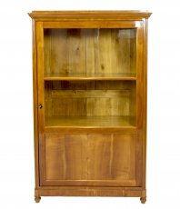 Vitrinenschrank - Kirschbaum - Biedermeier  - Antik - Möbel - Antiquitäten
